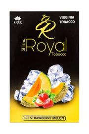 табак для кальяна Shisha Royal Tobacco ( клубника , дыня , холодок ) ice strawberry melon 50 гр
