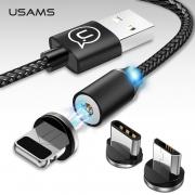 кабель usb на type-c  магнитный Usams