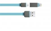 кабель USB-micro-iPhone 5,6 ( микро,айфон) универсальный + зарядка телефона от телефона