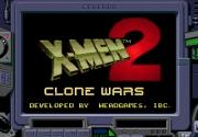 картридж (кассета) на SEGA (сега) X-men 2 clone wars