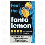 КАРТРИДЖИ FEEL the fanta lemon ПОДХОДИТ ДЛЯ JUUL (4 ШТ) 6% 0.7 мл