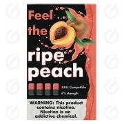 КАРТРИДЖИ FEEL the ripe peach ПОДХОДИТ ДЛЯ JUUL (4 ШТ) 6% 0.7 мл