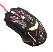 Мышь QUMO Helmet M31, проводная, оптическая, игровая