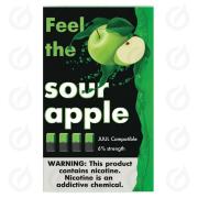 КАРТРИДЖИ FEEL the sour apple ПОДХОДИТ ДЛЯ JUUL (4 ШТ) 6% 0.7 мл