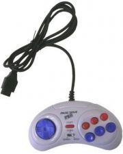 Белый джойстик для приставок Sega (Сега) и Magistr.