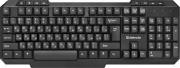 Клавиатура DEFENDER HB-435 Element, черный, беспроводная