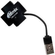 USB-HUB RITMIX CR-2404, белый, USB 2.0, 4 порта.