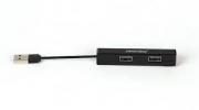 USB - Xaб Smartbuy 4 порта, чёрный