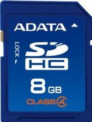 карта памяти  ADATA SD SDHC 8GB Class 4