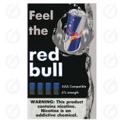 КАРТРИДЖИ FEEL the red bull ПОДХОДИТ ДЛЯ JUUL (4 ШТ) 6% 0.7 мл
