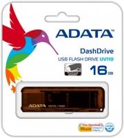 Флеш-накопитель USB 16 gb A-Data UV110 коричневый