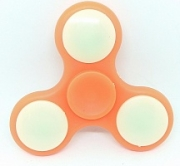 Spinner ( Спиннер ) антистресс Led (с подсветкой из светодиодов) оранжевый