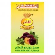 табак для кальяна Al Fakher (Аль Факер)  Plum with mint flavour ( слива и мята ) 50Г