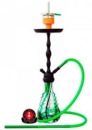 Кальян HAKOOH 62 см. зелёный/чёрный