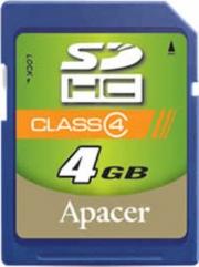 карта памяти APACER SDHC 4 gb class 4