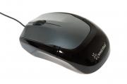 Мышь проводная Smart Buy 307, чёрная, USB.