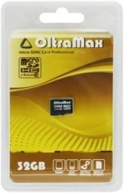 Карта памяти micro sd Oltramax 32 gb class 10 без адаптера