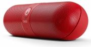 беспроводная , портативная  MP3-колонка Bluetooth BEATS PILL (большая) красная