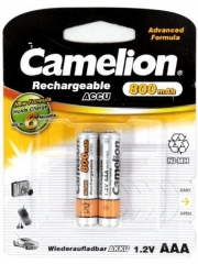 Аккумулятор CAMELION  R03 (800 mAh) (2 бл)
