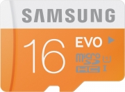 MicroSD 16GB Samsung EVO class 10  без адаптера