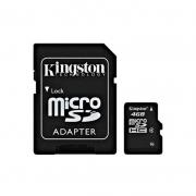 Карта памяти микро SD 4gb - Kingston - с адаптером SD и без