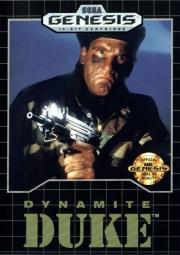 картридж (кассета) на SEGA (сега) Dynamite duke (динамит дюк)