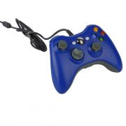 джойстик X-BOX 360 проводной синий