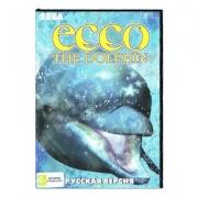 картридж (касcета) на SEGA (сега) Ecco the dolphin