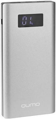 ЗУ Qumo PowerAid P10000, 10000 мА-ч 3A, камуфляж, 2 USB,