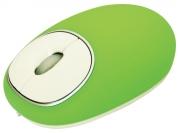 Мышь проводная RITMIX ROM-340 Antistress, зелёная, USB.