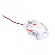 Мышь проводная  RITMIX ROM-355, белая, игровая
