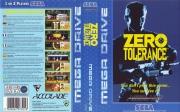 картридж (кассета) на SEGA (сега) zero tolerance (зеро толеранс)
