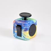 игрушка антистресс кубик-Fidget cube разноцветный