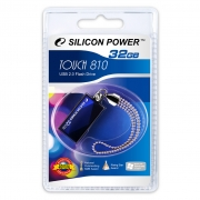 USB 32GB  Silicon Power  810 синий