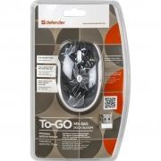 беспроводная мышь Defender TO-GO MS- 565 Nano, Rock Bloom