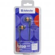 наушники Defender (дефендер) Pulse 430 черно ораньжевые