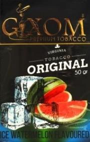 табак для кальяна Gixom ( гиксом ) ICE WATERMELON  flavoured  (ЛЕДЯНОЙ АРБУЗ) 50 ГР.