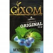 табак для кальяна Gixom ( гиксом ) MENTHOL   flavoured  (МЕНТОЛ) 50 ГР.