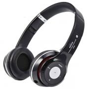 гарнитура bluetooth headphone s-460, мр3/fm, чёрный,частота 15Гц-25000