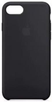 Чехол накладка Sillicone Case  iPhone 7 черный LM