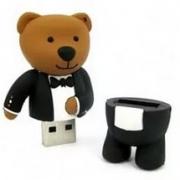 Флеш-накопитель USB  8GB  ANYline  BEAR  (пэт блистер)