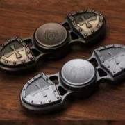 Spinner ( Спиннер ) антистресс металлический 009952 бронзовый