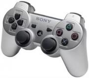 джойстик для Sony PLAYSTATION 3  DUALSHOCK 3 серебро