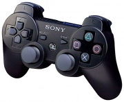 джойстик для Sony PLAYSTATION 3 (сони плейстейшн 3)  Dualshock 3 оригинал,черный