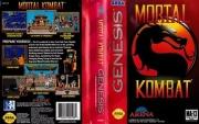 картридж (касcета) на SEGA (сега) Mortal kombat 2 (мортал комбат)