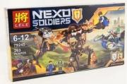 конструктор Lele (LEGO) Nexo soldiers ( инфернокс)