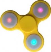 Spinner ( Спиннер ) светящийся антистресс желтый