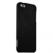 чехол накладка пластиковая XINBO iPhone SE / 5s / 5c / 5 черная LM