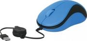 Мышь проводная DEFENDER MS-960, синяя