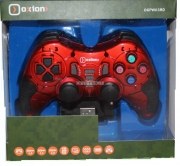 Беспроводной геймпад Oxion OGPW03BK с вибрацией красный